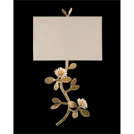 John Richard Quartz Flower Single-Light Wall Sconce