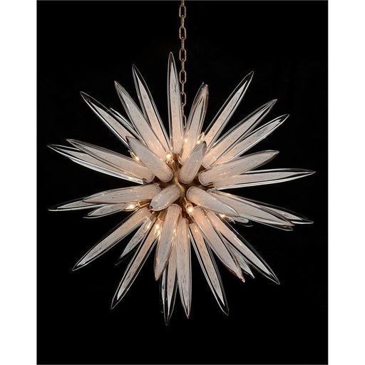 John Richard Handblown Glass Sphere Sixteen-Light Pendant