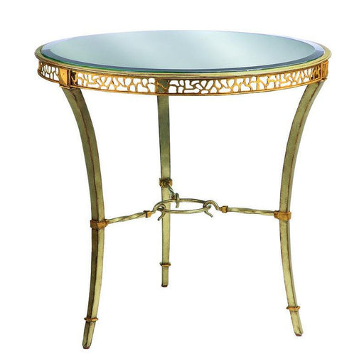 Marge Carson Bolero Round End Table