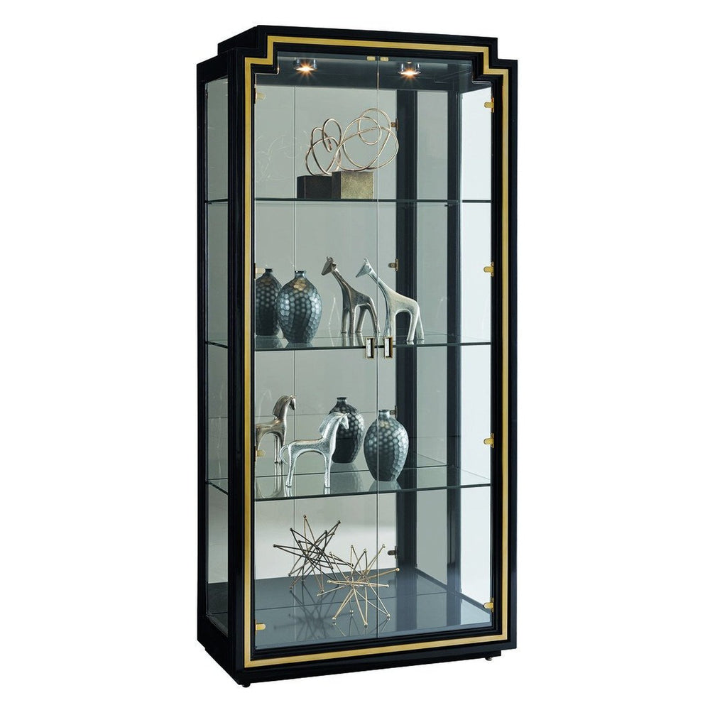 Carson Lyric Display Cabinet