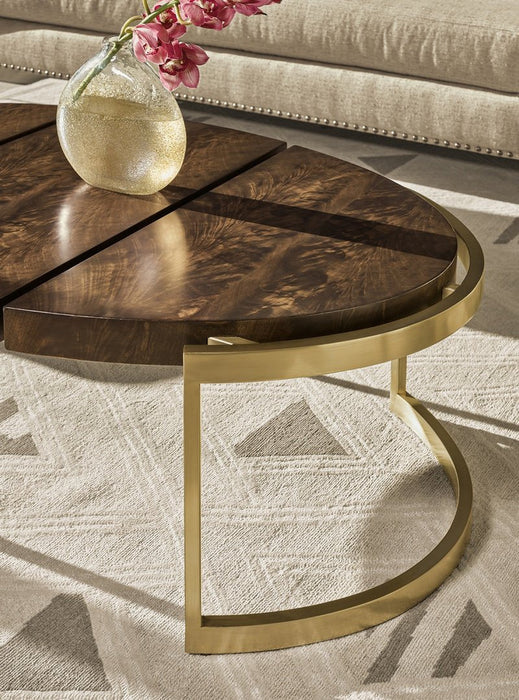 Carson Melody Oval Cocktail Table