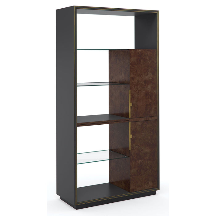 Caracole Double Booked Display Cabinet