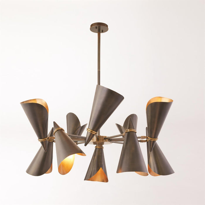 Global Views Meudon Multi-Arm Chandelier