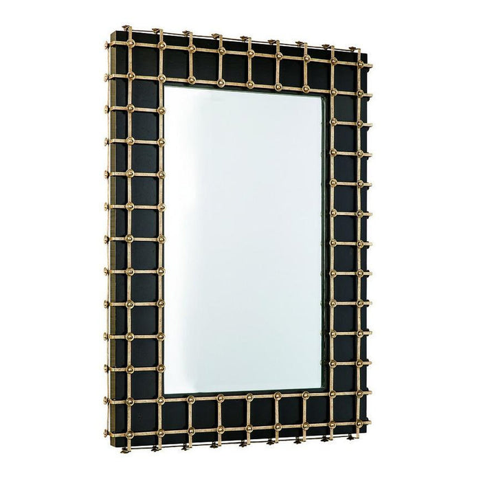 Marge Carson Cross Channel Mirror