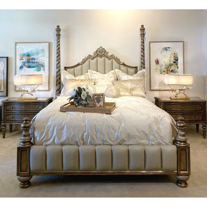 Marge Carson Grand Traditions Bedroom Set Floor Sample