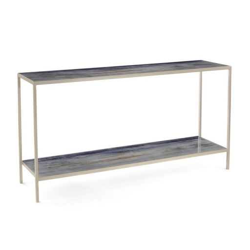 John Richard Shaye Rawson's Spring Rain Sofa Table with Shelf