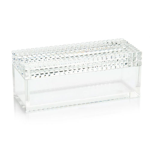 John Richard Square Cut Crystal Box