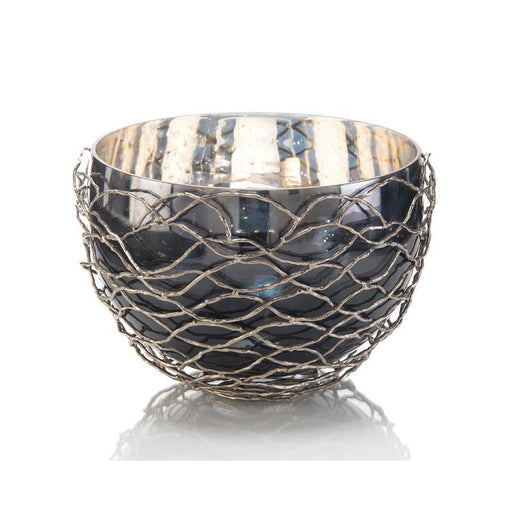 John Richard Woven Nickel Bowl