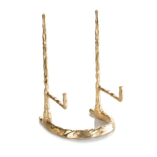 John Richard Giacometti Plate Stand in Gold