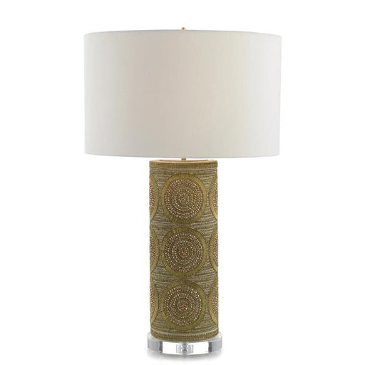 John Richard Brass Bead Table Lamp