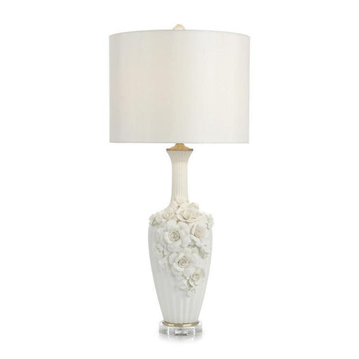 John Richard Botanical Porcelain Table Lamp III
