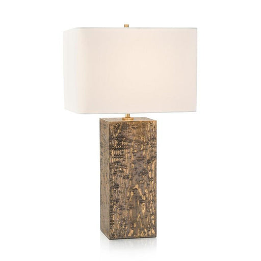 John Richard Wood Veneer Table Lamp