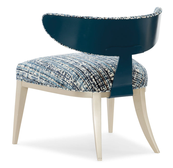 Caracole Upholstery Half Moon Chair