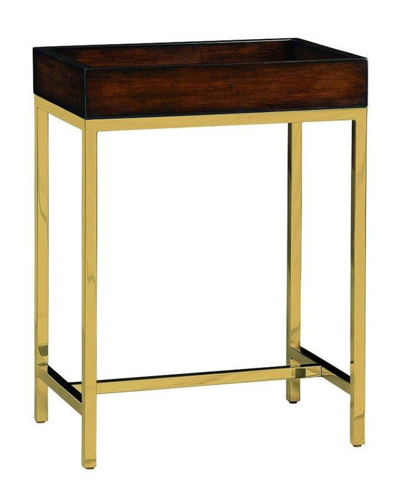 Marge Carson Malibu Chairside Table MLB30-3