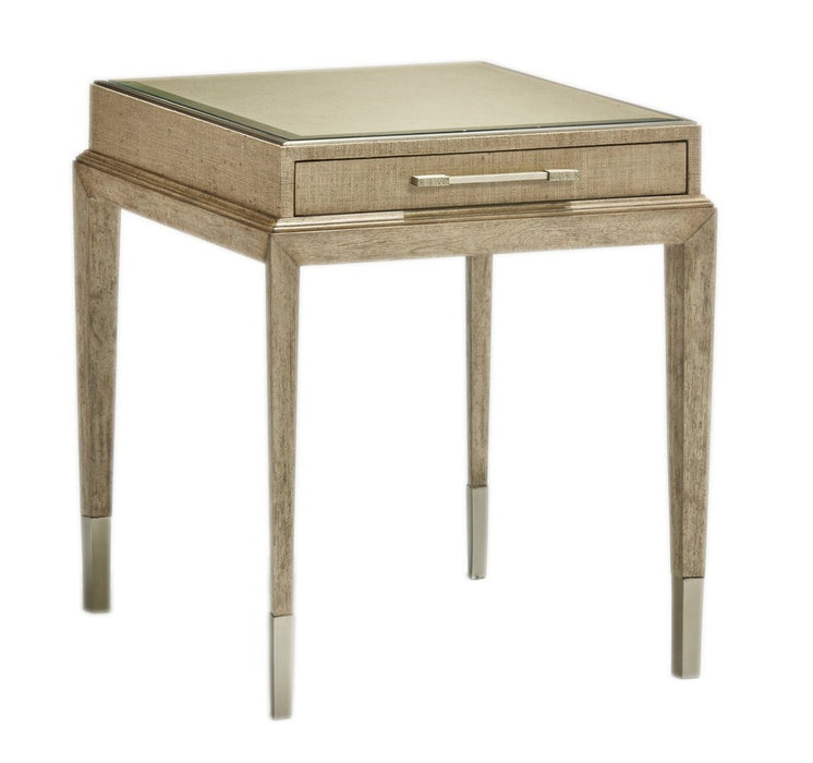 Marge Carson Palms End Table PLM04-2