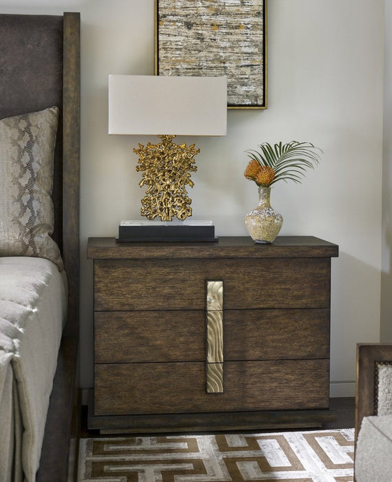 Marge Carson Palms Nightstand PLM12