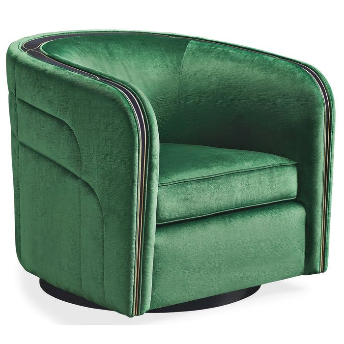 Caracole Promethean La Vie De La Fete Swivel Chair