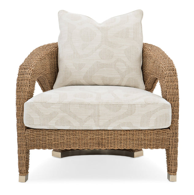 Caracole Upholstery Weave Me Be Chair