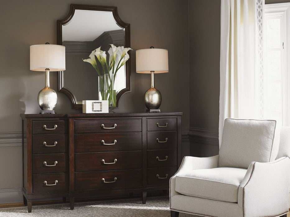 Lexington Kensington Place Baldwin Triple Dresser