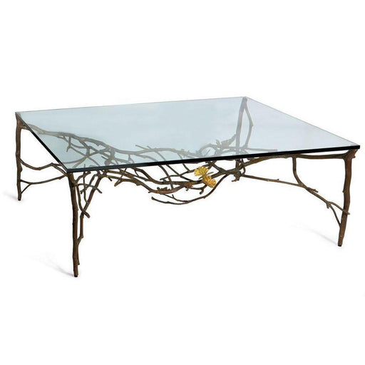 Michael Aram Butterfly Ginkgo Coffee Table