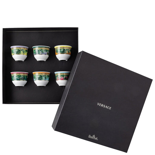 Versace Jungle Animalier - Set of 6 Mugs