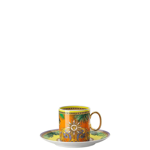 Versace Jungle Animalier - Coffee Cup & Saucer 6''