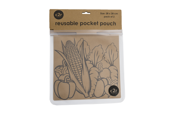 Large Flat Pocket Pouch