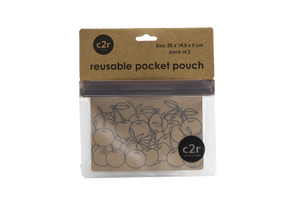 Medium Pocket Pouch with Gusset