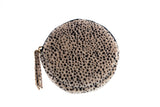 Animal Print Circle Coin Purse