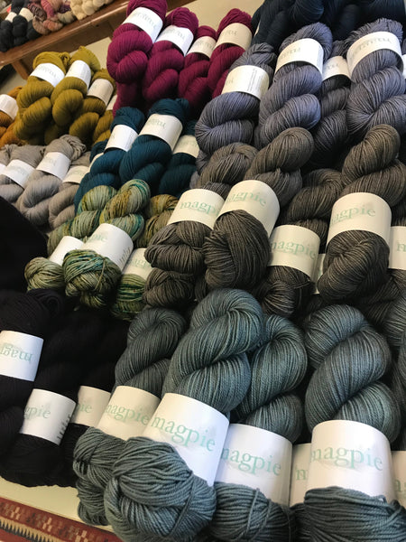 MagPie Yarns Pop Up