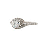 Brilliant Cut Round Diamond 14K Ring