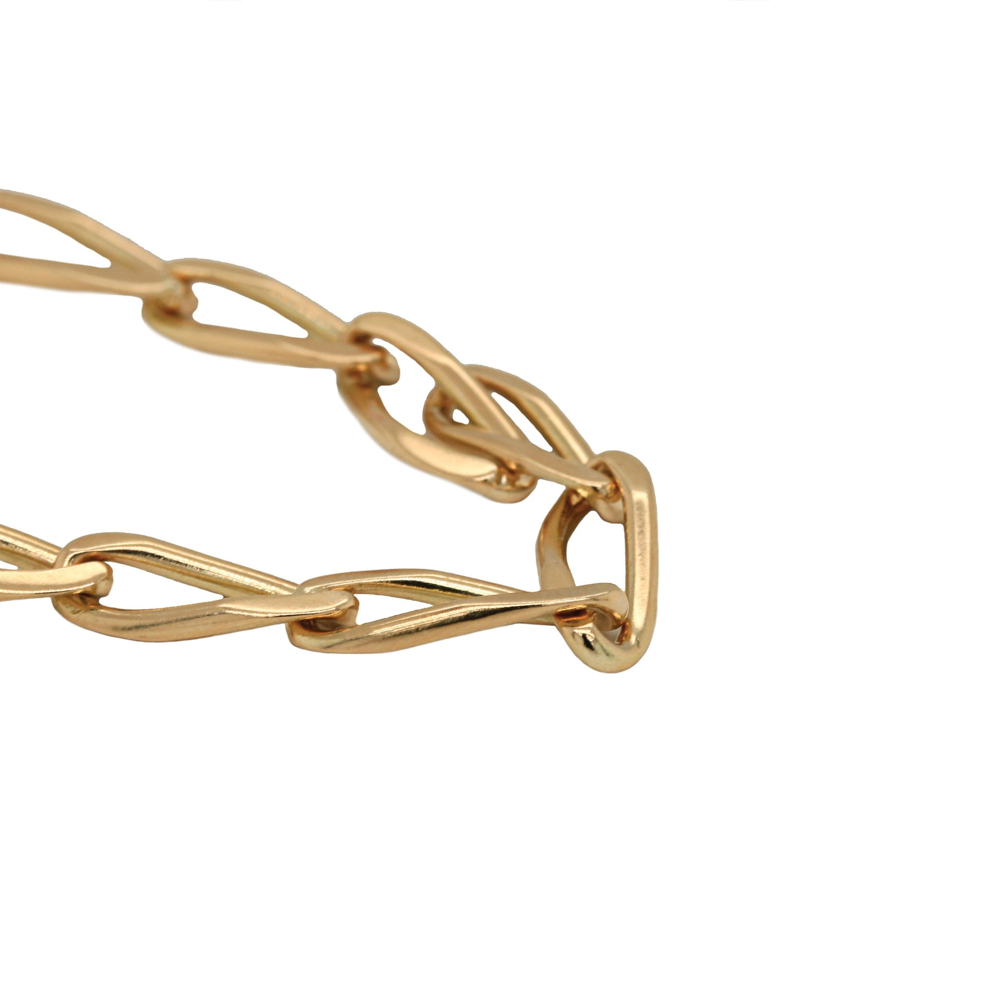 "14K Yellow Gold Cable Link 24"" Chain"