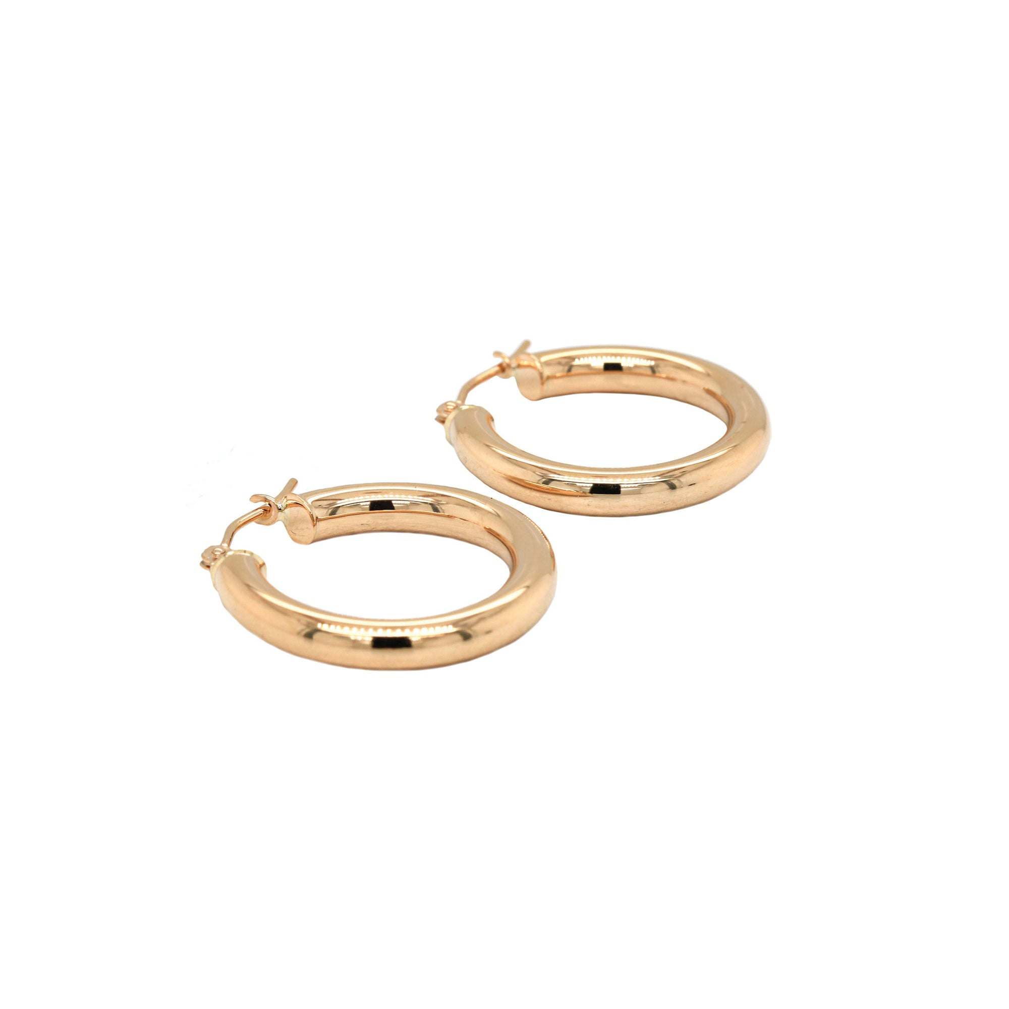 20mm 14K Gold Hoop Earrings