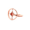 Oregon Sunstone 14K Rose Gold - The Jua Ring