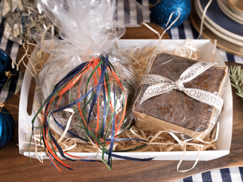 Christmas Cake and Pudding Hamper