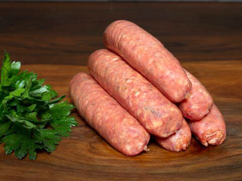 Italian Casalinga Sausages handmade by your Toowoomba Butcher