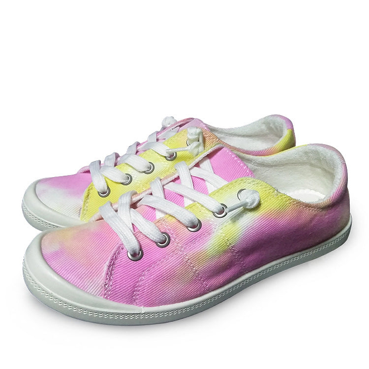 Women Casual Dip Flowe Casual Sneakers
