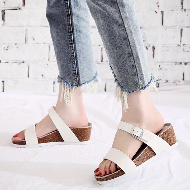 Women Large Size Beach Fashion Wedge Sandals