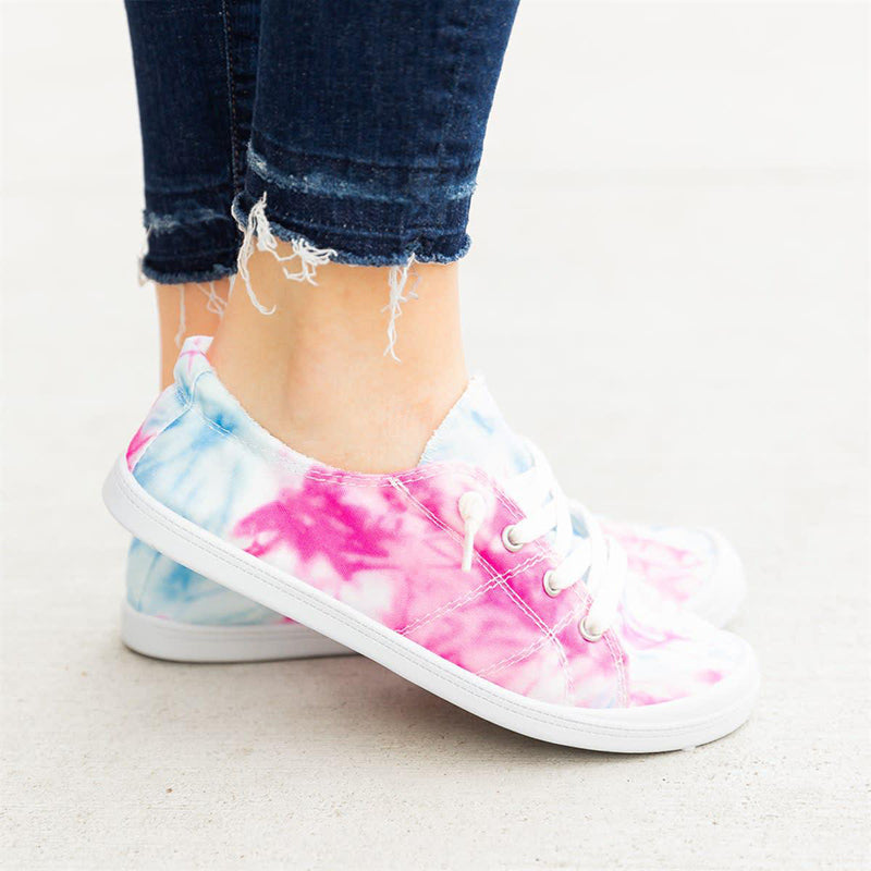 Women Fashion Largr Size Dip FlatSneakers