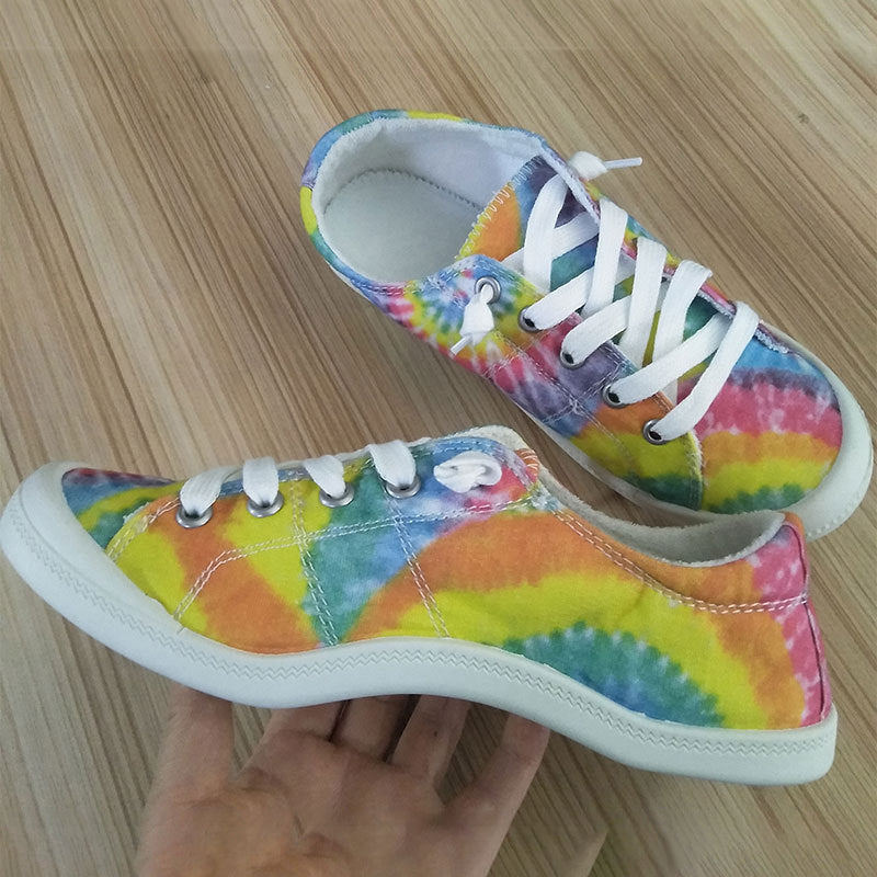Women Dip Cotton Casual Sneakers