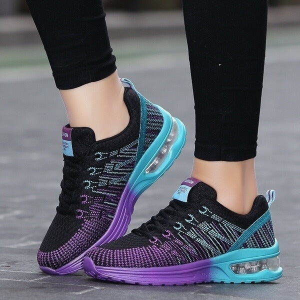 Women Fashion Comfy Lace-up Running Shoes