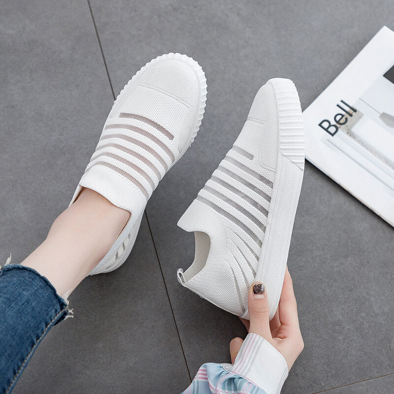 Women Fashion Breathable Slip On Sneakers