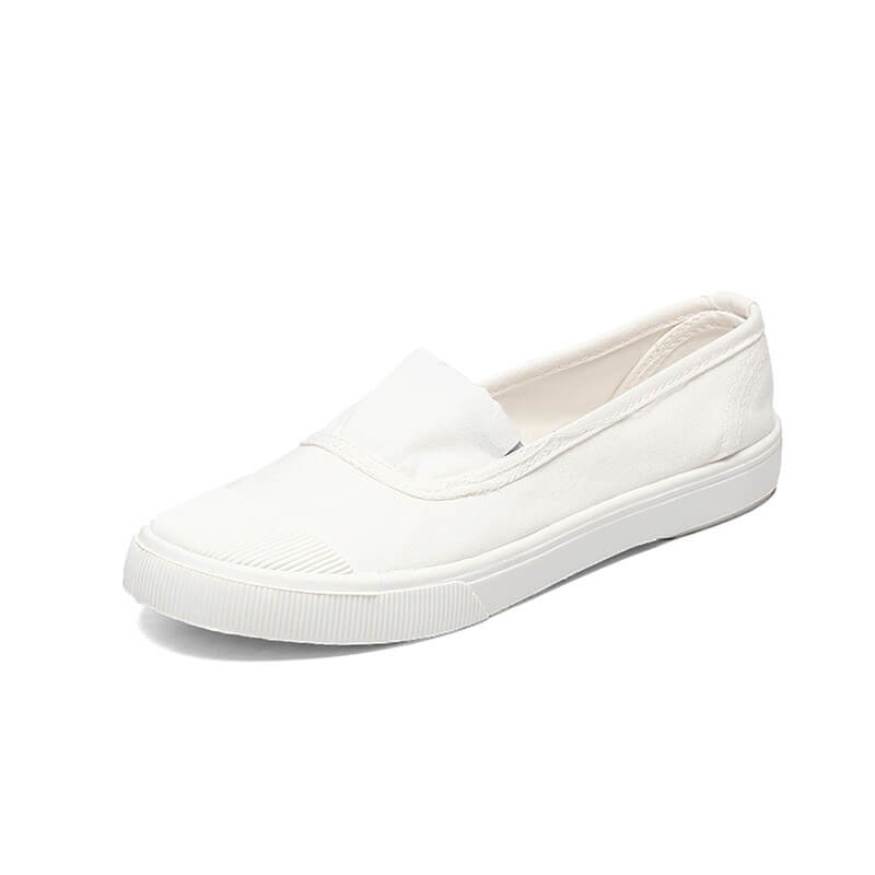 Women Daily Canvas Slip On Skate Shoes