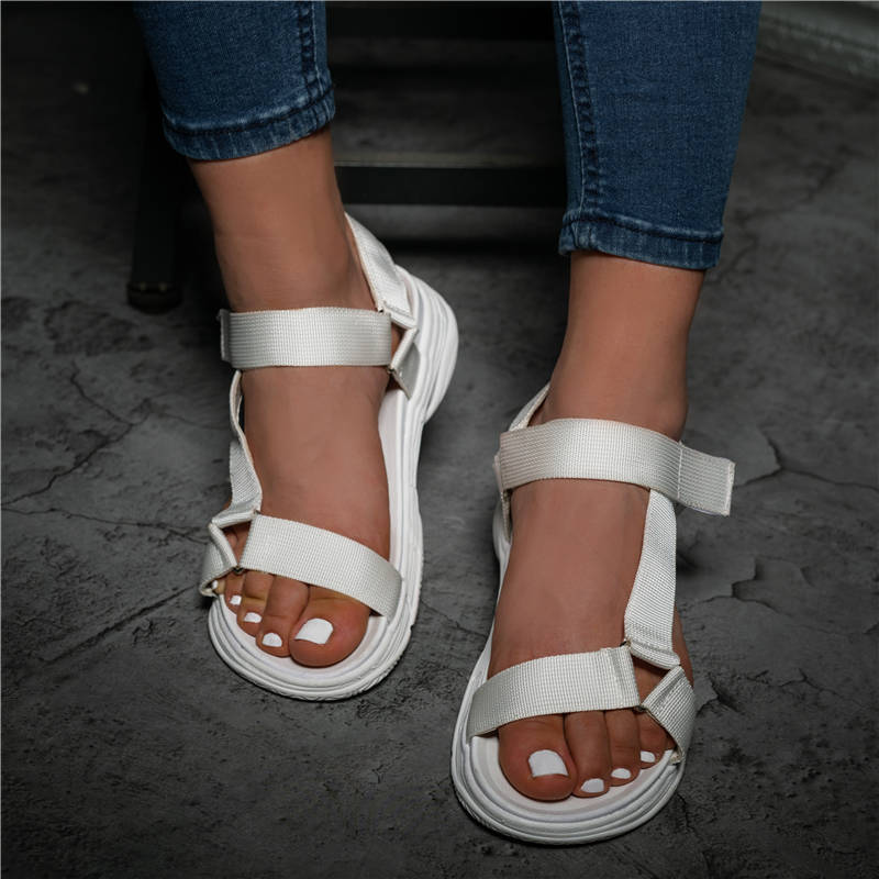 Women Fashion Largr Size Many Color Cross-strap Sandals