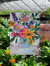 "Load image into Gallery viewer, August Daily Painting Day 16 ""Sunny Side Up"" 5x7 inch Floral Original - Bethany Joy Art"