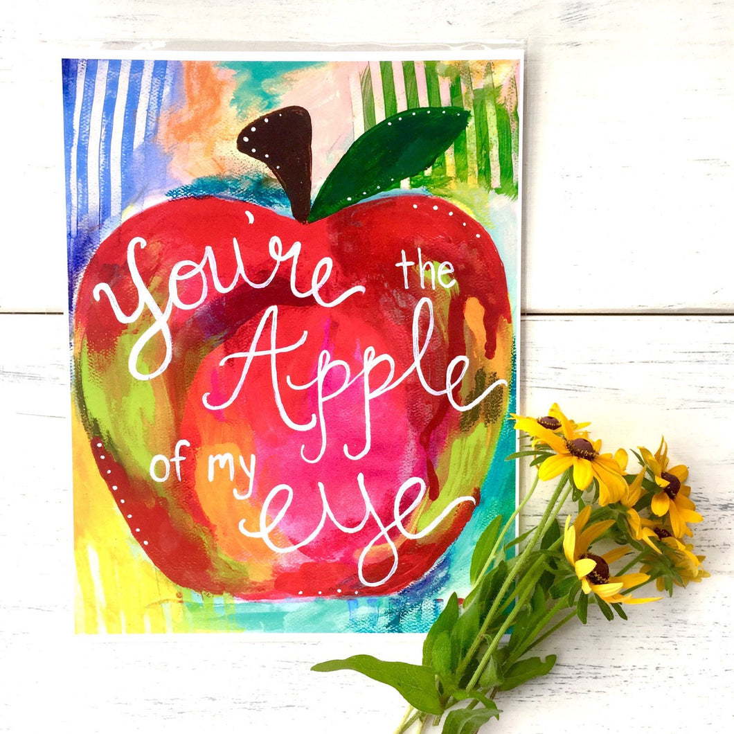 Teacher Gift / Art Print: