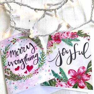 Christmas Greeting Cards with Envelopes (Pack of 2) - Bethany Joy Art