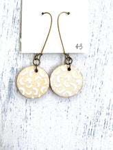 Load image into Gallery viewer, Colorful, Hand Painted Earrings 43 - Bethany Joy Art
