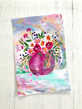 Load image into Gallery viewer, Mixed Media Floral Bouquet 1 on 6x9 inch paper - Bethany Joy Art