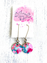 Load image into Gallery viewer, Colorful, Hand Painted Earrings 41 - Bethany Joy Art